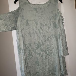 Maurices 24/7 cold shoulder tee